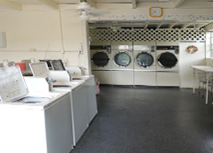 Laundry Facilities at The Harbor Waterfront Resort